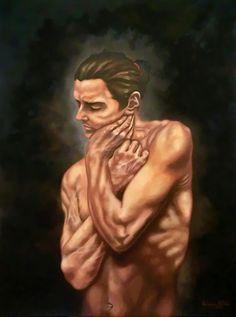 """""""La voce dell'anima"""" olio su tela cm 60x80 2016"""