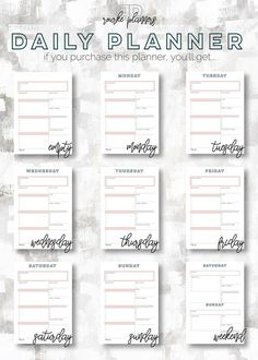 The Weekly Box Planner  January  December   Half Letter