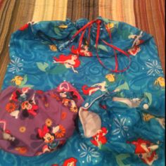 Custom swim diaper and wet bag order. :)