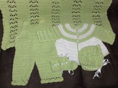 Crochet newborn babyset, crochet clothing set,baby boy crochet, baby girl…