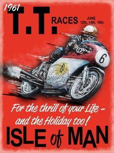TT Races £11.95 400 x 300mm