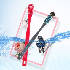 Couple Soft Toothbrush Bamboo Charcoal Nano Brush Cute Ultra Oral Care Nano-antibacterial Toothbrush 704 #Affiliate