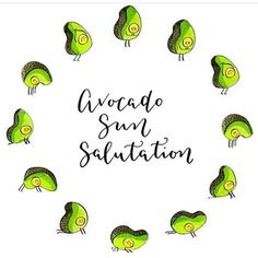 Because this is the cutest shit ever & who doesn't love avocados! Regram from the beautiful @kathrynbudig