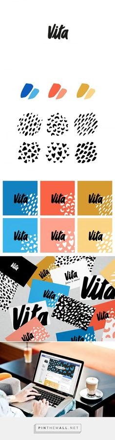 Vita Event Branding by Marcela Lopez Cleffi | Fivestar Branding Agency – Design and Branding Agency & Curated Inspiration Gallery