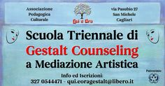 L'Associazione Culturale Pedagogica Qui e Ora, organizza il Corso di formazione triennale in Gestalt Counseling a Mediazione Artistica di 1500 ore totali.