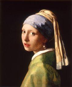 Jan Vermeer van Delft - Girl with a Pearl Earring