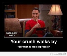 Big Bang Theory funny | big bang theory, crush, facial expression, funny, sheldon - inspiring ...