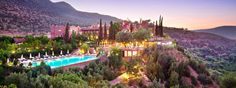 Branson's Morrocan Tamadot Kasbah just near Marrakech. The most beautiful house Ive ever been in