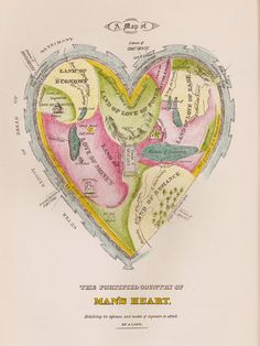""" The fortified country of man's heart "". Money and power seems to take a lot of place. Matrimony is outside the man's heart whereas the ' citadel of self-love ' is inside.   Hartford, Connecticut in the 1830s."