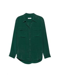 EQUIPMENT SIGNATURE SHIRT in Pine