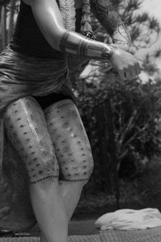 In Samoan's culture, the malu is the tattoo soley for women.