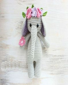 This cute crochet cow amigurumi is super soft and huggable! Create a friendly crochet cow using our step-by-step Cuddle Me Cow Amigurumi Pattern. Tutorial Amigurumi, Amigurumi Free, Crochet Patterns Amigurumi, Crochet Dolls, Amigurumi Toys, Crochet Elephant Pattern, Crochet Animal Patterns, Stuffed Animal Patterns, Hat Patterns