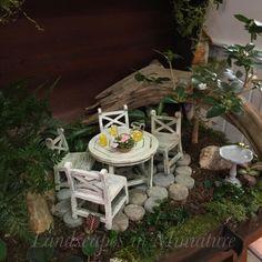 Miniature Patio Garden