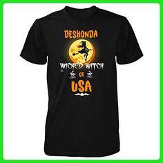 Deshonda Wicked Witch Of Usa. Halloween Gift - Unisex Tshirt Black 3XL - Holiday and seasonal shirts (*Amazon Partner-Link)