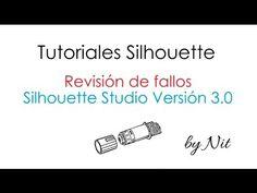 Silhouette Studio Versión 3.0: Revisión de fallos (Español) - YouTube