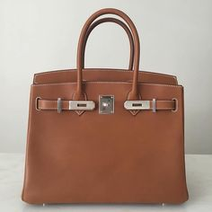 Hermès Barenia Birkin shown here in 30cm