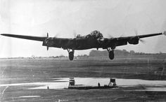 Lancaster landing/taking off. New Zealand Bomber Command Assn. Navy Aircraft, Ww2 Aircraft, Military Aircraft, Air Fighter, Fighter Jets, Lancaster Bomber, War Photography, Vintage Airplanes, Aircraft Pictures