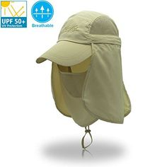 UNIQME Sun Cap Fishing Hat For Men Women, UPF 50+ Protection Quick-drying With Removable Neck Flap & Face Cover Mask, Sun Hat for Gardening, Hiking, Camping, Boating, Outdoor Sports  https://fishingrodsreelsandgear.com/product/uniqme-sun-cap-fishing-hat-for-men-women-upf-50-protection-quick-drying-with-removable-neck-flap-face-cover-mask-sun-hat-for-gardening-hiking-camping-boating-outdoor-sports/  【One Size Fits Most】Unisex Sun Hat with neck flap protection for men a #sunhatsforwomenhiking