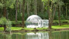 Attrap'Rêves- Hotel that offers 6 bubbles domes to stay in! Complete privacy is guaranteed!