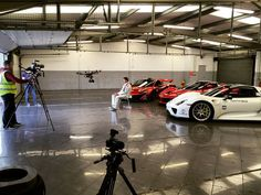 Today it was a pleasure to be involved with a world first at Silverstone racing circuit. @supercar_driver brought the Holy Trinity along to see once and for all which one of these amazing hypercars is fastest on the track. Huge thanks to everyone involved for making this happen! @supercar_driver @timcrawford @londoncarcollective @riadarianemedia @charliebrose @autoglymuk #Racelogic @silverstonecircuit #Silverstone #Racing #HolyTrinity #Drone #Drones #Dronestagram #McLaren #P1 #Ferrari…