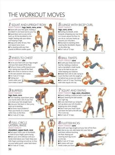 Full body workout with weights