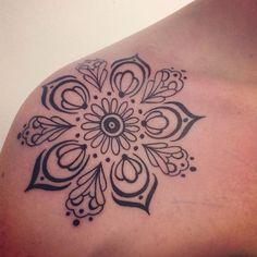 mandala tattoos | My mandala tattoo :) | Tattoo rayban glasses $24.99.  http://www.glasses-max.com