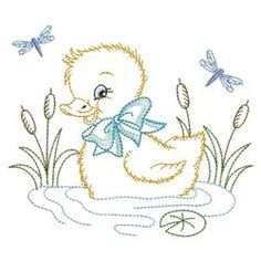 Vintage Embroidery Designs This sweet set of cuddly animals will be perfect on projects for babies and toddlers. - This sweet set of cuddly animals will be perfect on projects for babies and toddlers. Hand Embroidery Patterns Free, Baby Embroidery, Embroidery Sampler, Embroidery Transfers, Learn Embroidery, Machine Embroidery Designs, Embroidery Stitches, Embroidery Tattoo, Simple Embroidery