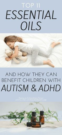Top Essential Oils for Autism & ADHD - Essential Oils for Focus - Essential Oils for Calm - Essential Oils for better Sleep - Essential Oils for Kids