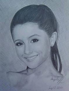 Ariana grande drawing