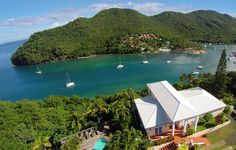 The Great House: 5-Star Rated St. Lucia House Rental