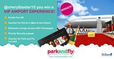 The lucky winner of our Park and Fly VIP Airport Experience over on Twitter was a very excited Mum of two from Carrickfergus, Cheryl Baxter. Congratulations Cheryl! We can't wait to treat you and your lovely family like true VIPs! https://twitter.com/BELFASTAIRPORT/status/487205445811965952