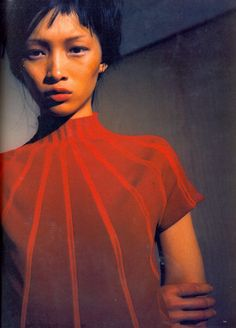 Vivienne Tam in New York, Ling photographed by Cris Moor for High Fashion Magazine 10 October 1998