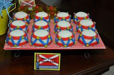 Drums Mini Cake  Soldadito de plomo  Soldadino de chumbo  Little Tin Soldier