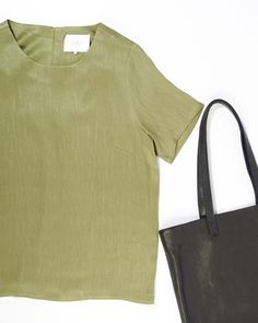 The Just Female Egon Top & #Baggu #Leather Tote are #rich in texture and colour. See for yourself online or in stores.