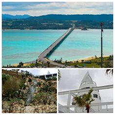 ☆ 沖縄の自然 ☆  古宇利島周辺の美しいエメラルドグリーンの 海は最高に綺麗です^^  最近はオーシャンタワーもできて にぎわっています♪