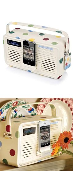 Retro Polka Dot Radio