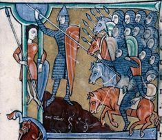 Troyes BM MS.28 Bible 1150 Francia