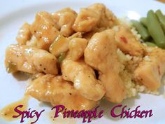Spicy Pineapple Chicken. WLS Meal. WLS Recipe.
