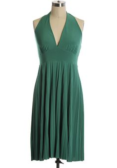 The Marilyn Dress in Green