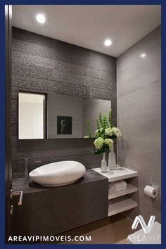 Seleção de banheiros encontrados na internet para os clientes da areavipimoveis se inspirarem.
