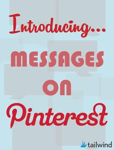 Messages on Pinterest