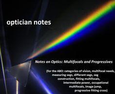 79531e64fc6 Notes on Optics  Segmented Multifocals and Progressives