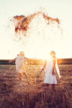 csutafoto, summer, sunset, gilrs