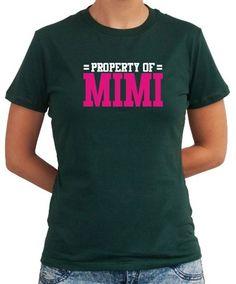 Property Of Mimi Women T-Shirts