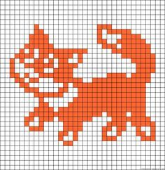 Animal Knitting Patterns, Knitting Charts, Stuffed Animal Patterns, Crochet Patterns, Easy Cross Stitch Patterns, Simple Cross Stitch, Cross Stitch Charts, Alpha Patterns, Kids Patterns
