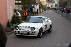 April 2012 - Porsche 924 Monte Carlo finishing the Hillclimb at Langenburg Historical Races. Germany.