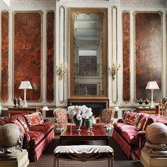 Interior design by Juan Pablo Molyneux | via @jamesswan http://www.thisisglamorous.com/2015/03/decor-inspiration-28-maximalist-rooms/page/25/