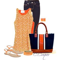 Animal Print for Summer, created by ccroquer on Polyvore