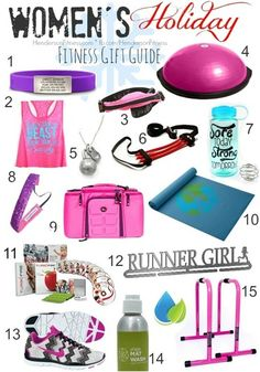 What would I like???? ALL OF IT!! Womens Fitness Gift Guide