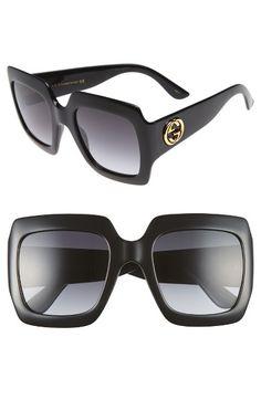 0dc8eac4cdd Gucci 54mm Square Sunglasses Gucci Sunglasses